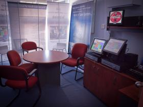 The POS Demonstration Room